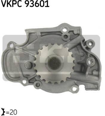 Pompe à eau SKF VKPC 93601