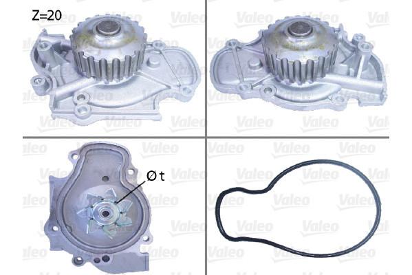 Pompe à eau VALEO 506321