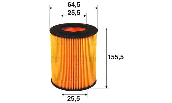 Filtre à huile moteur VALEO 586502