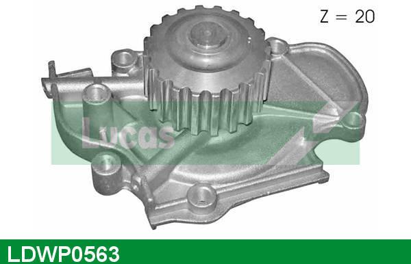 Pompe à eau LUCAS LDWP0563