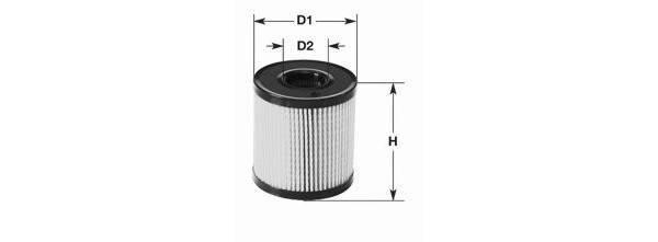 Filtre à huile moteur CLEAN FILTERS ML030