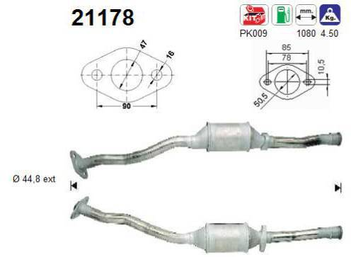 Catalyseur AS 21178
